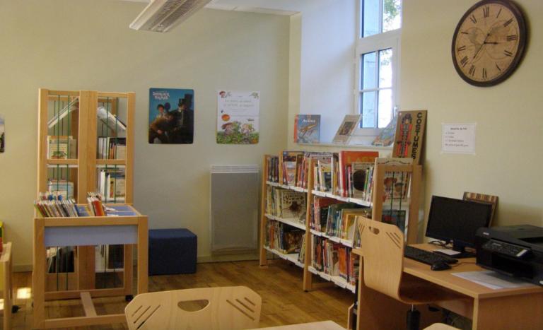 Bibliothèque de Boussac